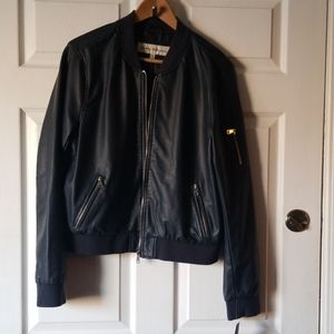 Sebby Collection Vegan Leather Jacket